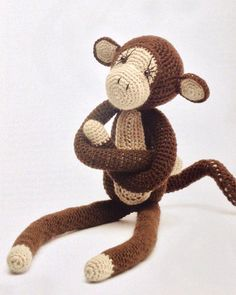 Monkeying around Amigurumi