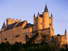 I have been here! Segovia, Spain  El Alcazar  Some believe this was the castle to influence the design of the Disney Castle.