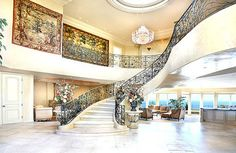grand, very grand, staircase