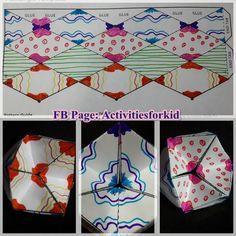 Flextangles  credit: http://babbledabbledo.com/paper-toys-flextangles/