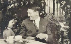 Adolf Hitler — fuehrerbefehl:   Hitler and a little one enjoying...