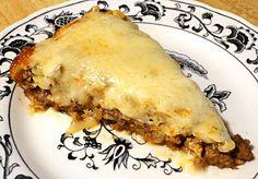 Low carb taco pie- Linda's Low Carb Menu's and Recipes