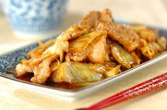 豚バラ肉を下ゆですることで、余分な脂をカット! ご飯が進む、食べごたえのある一品です。