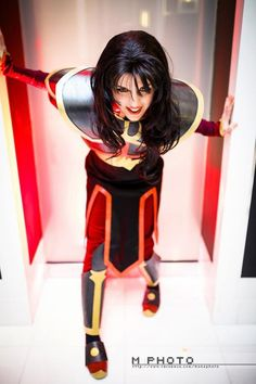 """Azula - Avatar the Last Airbender Cosplay """"that's a sharp outfit. You could puncture the hull of a royal battle class ship, leaving thousands to die at sea- because it's so sharp."""""""