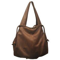 Leather slouchy Handbag named Femme Fatale in by iyiamihandbags