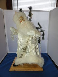 "2007 Lynn Haney Santa 18"" Crystal Frost 14607 | eBay"