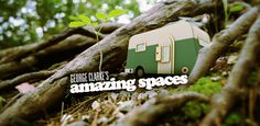 Amazing Spaces - The TV series for Channel 4 and the book.  For behind the scenes inspirations visit 'my cool...' the home of Jane Field-Lewis, co-author with Mr George Clarke.