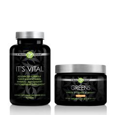 "Not eating your fruits and vegetables like you should? Get what you are missing with Greens, a delicious orange-flavored, alkalizing drink powder with the nutritional value of 8+ servings of fruits and vegetables in each serving.    Greens blends 38 herbs and nutrient-rich ""superfoods"" to provide vitamins, minerals, phytonutrients, and enzymes in their naturally-occurring, bio-active, bio-available form."