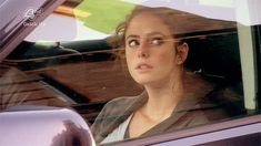 Driving to James's home from the police station with William sitting next to her