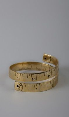 Measuring tape ring.