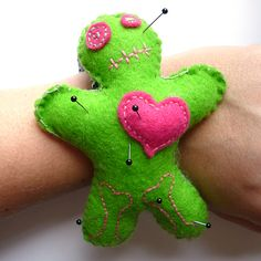 Inspired! Voodoo Doll Pin Cushion!