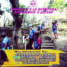 Caminito a la #aventura apurándose a llegar http://www.rioactopan.com.mx #actopan #Veracruz
