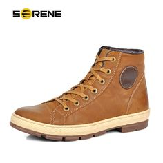 35b984e8f3b0df SERENE 2017 Men Boots Leather Lace Up Men Fashion Shoes Retro Design Boots  Tooling Boots Casual Botas Plus Size Warm Winter Boot-in Basic Boots from  Shoes ...
