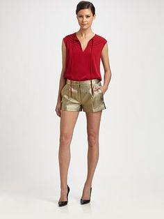 Diane von Furstenberg - Marlian Sleeveless Silk Top - Saks.com
