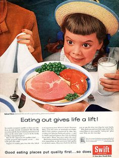 "Swift Ad ""Eating out gives life a lift!"""