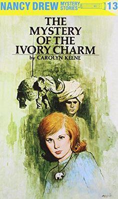 The Mystery of the Ivory Charm (Nancy Drew, Book 13) by Carolyn Keene http://www.amazon.com/dp/0448095130/ref=cm_sw_r_pi_dp_nqwsvb1CDKQQT