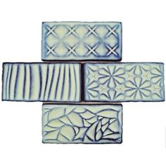 Shop for SomerTile 3x6-inch Antiguo Sensations Agua Marina Ceramic Wall Tile (8/Pack, 1 sqft.). Free Shipping on orders over $45 at Overstock.com - Your Online Home Improvement Shop! Get 5% in rewards with Club O!