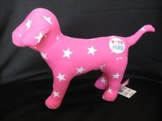 "Victoria's Secret Pink 7"" Plush Dog ""Vote for Pink"" by Toy Island Manufacturing Company, http://www.amazon.com/dp/B004VO8EJ0/ref=cm_sw_r_pi_dp_TYRorb0QBXFY2"