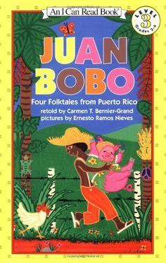 Juan Bobo: Four Folktales from Puerto Rico (I Can Read Book 3) by Carmen T. Bernier-Grand,http://www.amazon.com/dp/0064441857/ref=cm_sw_r_pi_dp_8DoBtb0AHJ8D7WRF