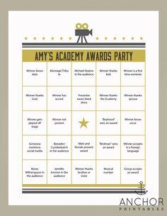 Cool site where you can customize an Oscars Bingo #2015Oscars