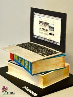 laptop cake (-.-)
