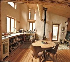 cob house/straw bale/or something/whatever/perfect Cob Building, Building A House, Green Building, Earthship Home, Natural Homes, Earth Homes, Natural Building, Design Case, Design Design