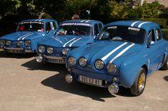 Toutes les tailles | Dauphine et R8 gordini retro car meeting aout 2010 | Flickr: partage de photos!