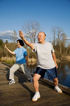 Tai Chi for seniors as many health benefits Tai Chi, Health And Wellness, Health Fitness, Senior Fitness, Healthy Aging, Stay Young, Qigong, Regular Exercise, Injury Prevention