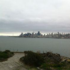 SF from Alcatraz!!