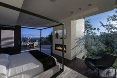 schlafzimmer luxus interieur atemberaubende aussichten landschaft