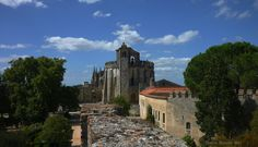 View of the round Templar church century) of the Convent of the Order of Christ. The Convent and Castle complex is a historic and cultural monument which was listed in the list of UNESCO World Heritage list in Beautiful Castles, 12th Century, Architecture Details, Portugal, Mansions, House Styles, World, Christ, Castles