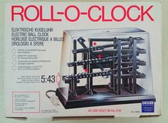 Time Machine Rolling Ball Clock Omg My Parents Own This