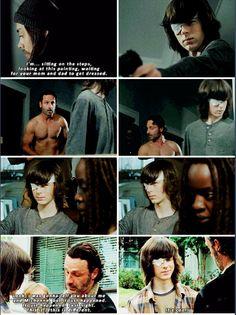 """Rick & Michonne ~ The Walking Dead ~ S6 E11 """"Knots Untied"""""""