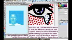 Halftone effects similar to the Roy Lichtenstein 'Pop Art' images are easy to create and manipulate in Photoshop. This short video tutorial will show you how...