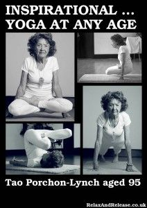 Inspirational Yoga at any age (Tao Porchon Lynch)