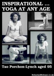 Inspirational Yoga at any age (Tao Porchon Lynch)