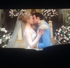 First kiss picture ♥ Cinderella & Prince Charming