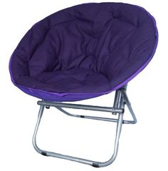Comfort Padded Moon Chair - Downtown Purple