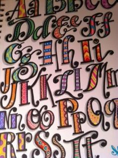lettering style