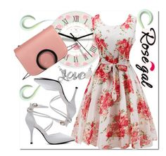 """""""Time#is#up"""" by bamra ❤ liked on Polyvore featuring vintage"""