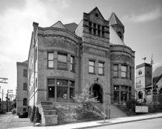 Pretty Libraries   Braddock Carnegie Library, aka First Carnegie Library, in Braddock, Pa. (2011)