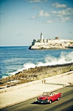 Malecon, Cuba. Our hotel room view was this beautiful sight of Malecon. Stunning.