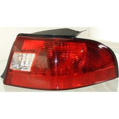 2000-2003 Mercury Sable Tail Lamp RH, Lens And Housing, Sedan