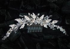 Bridal Hair Comb Crystal Comb Wedding Comb Wedding Hair