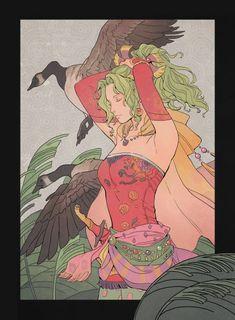 Final Fantasy Vi, Final Fantasy Artwork, Character Concept, Drawings, Twitter, Deck, Sun, Video Games, Entertainment