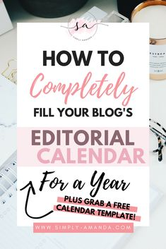 It takes a TON of work to constantly be able to churn out interesting new posts for your blog every single week. Save yourself the time and headaches by creating and filling your blog's editorial calendar for a whole year! Plus grab your free template to get started! >>> via simply-amanda.com
