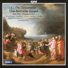 Hermann Max - Telemann: Das Befreite Israel/Hermann Max