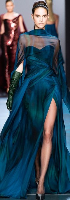 Ombre, Color - Georges Chakra Couture FE 2014 - 2015