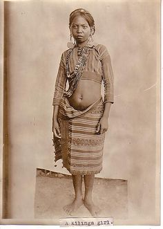 Kalinga Woman, Philippines 1911; in other words a Black Woman.