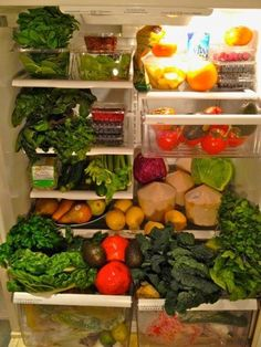 This is what the inside of your refrigerator should look like